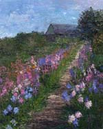 Monet's Path de Fluers